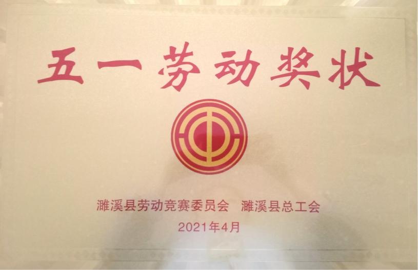 """安徽理士荣获""""五一劳动奖""""称号"""